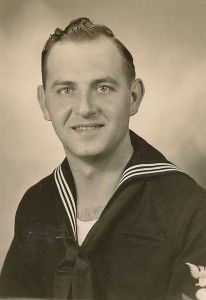 Clyde served in the U.S. Navy during WWII as an Electrician's Mate, 2nd Class.